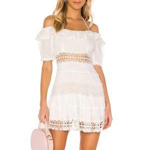 Free People Cruel Intentions Mini Dress in Ivory